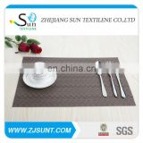 Wholesale brown vinyl tablecloth New design
