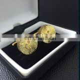 2016 newest luxury bling custom shirt cuffllink with gift box