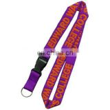 one layer woven lanyard