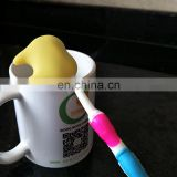 silicon children toothbrush holder for bathroom