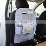 Customized Car Seat Back Set Multi Space Pockets Items Organizer Bag