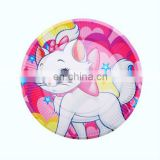 "Popular 7"" round party theme paper plates for party supplies decorations"