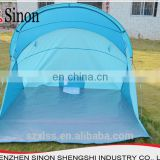 New custom silver polyester canvas sun shade tent shelter for outdoor carp fishing