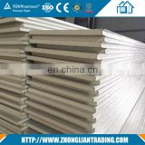 Structural Color-Coated Steel Used PU polyurethane sandwich panels for cold room