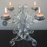 Minimalist Acrylic Candelabras Hot Sale Acrylic Candlestick, Beauty candle Stand