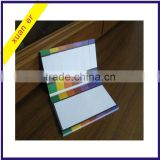Wholesale high quality cheap custom shaped memo pad, adhesive paper sticky note