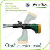 (803) Garden lance Alunimum tube 16'' TPR covered rotary spray, plastic 8 function heavy duty water guns for garden