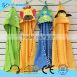 100% cotton Animal shape baby hooded bathrobe/ baby blankets                                                                         Quality Choice