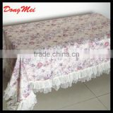 colourful decorative handicraft dining table cover/table cloth