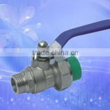 ppr male brass ball union valve