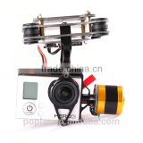 Poplar FPV 2 Axis Brushless Gimbal With Controller For DJI Phantom GoPros 3