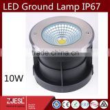 CE ROHS certification STAINLESS STEAL outdoor lamp garden lighting COB 10W LED underground lights