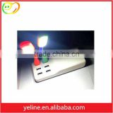 White mulit 6 usb charger plates wholesale