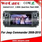 Wecaro WC-JC6235 Android 4.4.4 car dvd HD for jeep commander radio cd player 2008 - 2010 USB SD