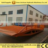 Forklift Mobile Loading Dock Ramp Hydraulic Ramp to Unload Container/Multi-use Dock Ramp/Container Leveler
