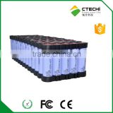 48v 11ah electric bike li ion battery,18650 cell 13P5S Composed