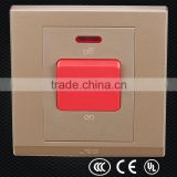 40a hotel room power switch, air conditioner wall switch, electrical switch