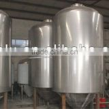 50 BBL/day Beer brewing brewery and Conical fermentation tank jacketed,
