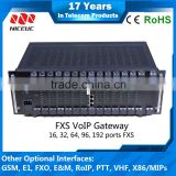 Wholesale NICEUC Analog Gateway with 16, 32, 64, 96, 192 ports FXS/FXO