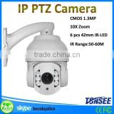 China new outdoor waterproof ip66 ip high speed dome camera,1080p30 full hd 3x zoom ptz video camera