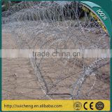Guangzhou factory galvanized razor wire fencing for kenya market