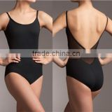 Girls Mesh high cut Camisole sexy ballet leotards                                                                         Quality Choice