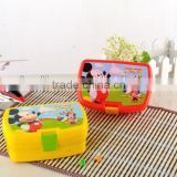 Hot selling plastic children lunch box
