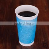 OEM logo printed eco-friendlly manufacture of 12 oz cold paper cup