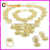 2012 Indian Bridal Wedding Gold jewelry set