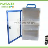 Aluminum and plastic tools drawer cabinet