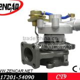 Toyota Hiace turbocharger CT9 turbocharger 17201-54060