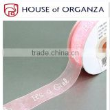 High Quality Packing Polyester Organza Ribbon Roll