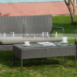 Weather-resistant Cheap promotional outdoor garden furniture wicker sofa set outdoor rattan sofa set                                                                                                         Supplier's Choice