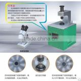 Common rail injector valve grinding machine with microscope