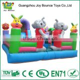 elephant toys for outdoor inflatable park,amusement park guangzhou amusement park inflatable castle