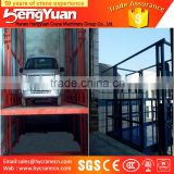 guide rail chain platform lift/guide rail chain lifting machine/guide rail chain small goods lift