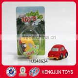 children plastic toys wind up skip car made in shantou toy factory