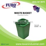 6888-B - Fuho Plastic Waste Basket (Philippines)