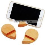 Wood Holder For Mobile Phone, Stand For Apple IPhone, Wooden Stander For Phones