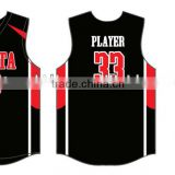 Stan Caleb Custom made reversible basketball jersey tackle twill