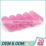 A diameter of 50 mm hairdressing magic plastic core curls | adhesive hair curlers