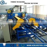 Sectional Overhead Door Making Machine , Electric Motor Driven Door Slat Panel Roll Forming Making Machine Good Price