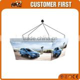 Chinese Factory Best Quality Tension Fabric Graphic Portable Hanging Signage