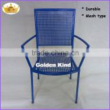 Comfortable and modern commercial furniture metal durable waiting chair for airport/train stations/office