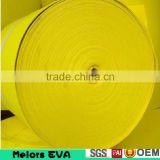 Melors waterproof colorful craft material eva foam roll/sheet china supplier