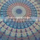 Round Mandala fabric Tapestry Tapestries, Indian Tapestry, Hippie Tapestry, Indian Wall Hanging, Indian Bedspread, Tapestry,