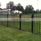cheap fence panels for sale, metal garden fence with fence post, used aluminum pool fence panels