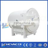 HCVAC plastic metallizing vacuum coating plant,surface treatment plastic colorful PVD vacuum coating machine