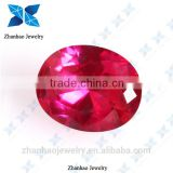 natural corundum oval cutting ruby natural untreated ruby natural landscaping colored crushed stone