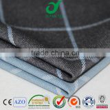 2016 China wholesale beautiful checks senior quality tr spandex man lady uniform dress suiting fabric cloths stocklot
